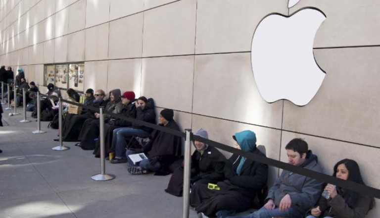 Nobody has the highest customer loyalty as Apple does.